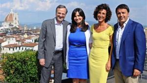 Μεταναστευτικό και οικονομία το «μενού» του γεύματος Σαμαρά – Ρέντσι στη Φλωρεντία